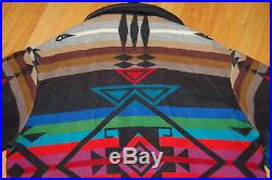 Vintage PENDLETON High Grade WESTERN WEAR Navajo SOUTHWEST Tribal Jacket Size L