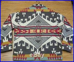 Vintage PENDLETON High Grade WESTERN WEAR TRAIL HEAD Wool Coat Sz Med