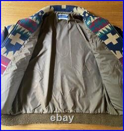 Vintage Pendleton Aztec Native Western Wool Jacket Coat 90's