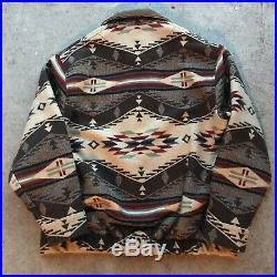Vintage Pendleton Aztec Navajo Jacket Wool Southwest Western XL