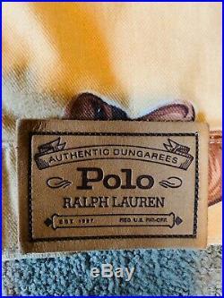 Vintage Polo Ralph Lauren Western Equestrian Rodeo Jean Jacket Mint Super Rare