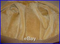 Vintage RANCHERO Lambswool Shearling Western Coat Jacket Bomber sz 44