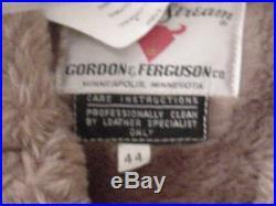 Vintage Sheep Skin Coat Western Bi B2 B3 Bomber Jacket Shearling