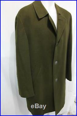 Vintage TIROLER LODEN KING Lodencoat Jacket WOOL Western Germany TRENCH COAT M