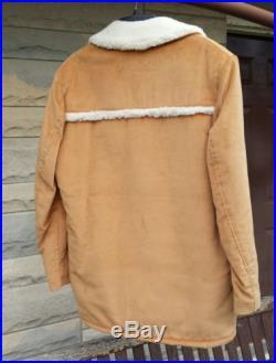 Vintage Trailmaster Men's 40L Western Cowboy Marlboro Man Sheep Wool Coat Jacket