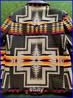 Vtg Pendleton High Grade Western Wear Aztec Coat Sz 42