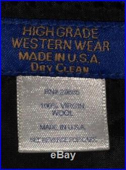 Vtg Pendleton High Grade Western Wear Wool Aztec Southwestern Jacket Sz XXL USA
