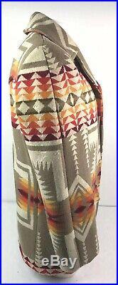 Vtg Pendleton Jacket Wool High Grade Western Mens Sz 40 NO BUTTONS See Details