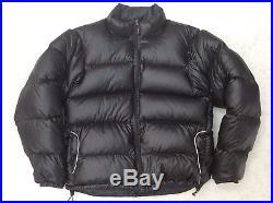Western Mountaineering Flight Jacket, 850fp Down, Black Mens Large