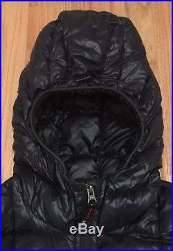 Western Mountaineering Womens Hooded Flash Black M Medium Goose Down Jacket