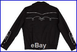 Western Rockabilly BOLERO / BILLY JACKET H Bar C / HbarC Mens Size 2XL NWT