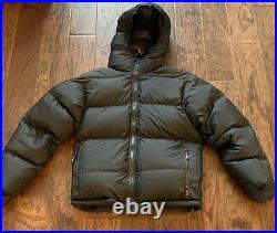 Western mountaineering Goose down jacket Black Puffer Coat