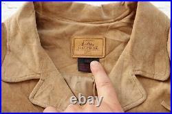 Womens RALPH LAUREN Fringe Tassel Suede Leather Western Coat Jacket Large