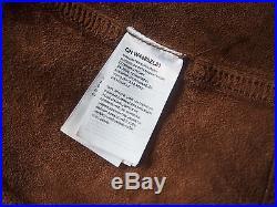 Wrangler 1947 Lederjacke Leather Jacket Größe L Braun Vintage Optik Western