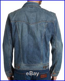 Wrangler Herren Jeansjacke Größe S bis XXXL Blue Black o. Midstone